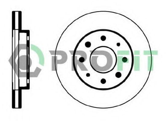 Тормозной диск PROFIT арт.