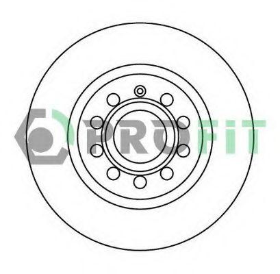 Тормозной диск PROFIT арт. 50101223