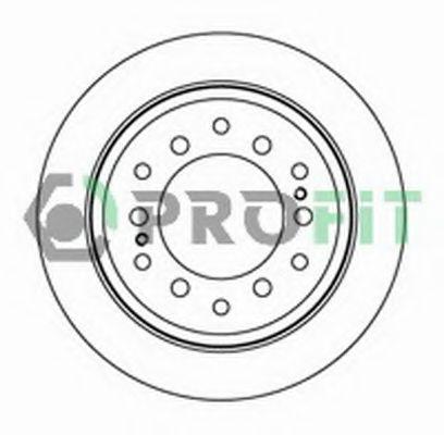 Диск гальмівний PROFIT 50102015