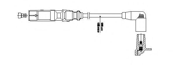 Провод зажигания BREMI арт.