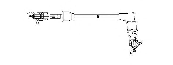 Провод зажигания BREMI арт. 31440