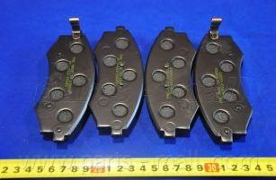 Комплект тормозных колодок, дисковый тормоз PARTSMALL арт. PKA003