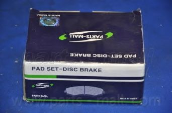 Комплект тормозных колодок, дисковый тормоз PARTSMALL арт. PKB007