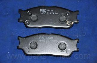 Комплект тормозных колодок, дисковый тормоз PARTSMALL арт. PKB017