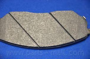 Комплект тормозных колодок, дисковый тормоз PARTSMALL арт. PKB020