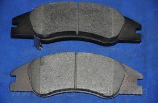 Комплект тормозных колодок, дисковый тормоз PARTSMALL арт. PKB028