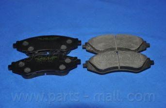 Комплект тормозных колодок, дисковый тормоз PARTSMALL арт. PKC003
