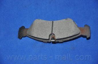 Комплект тормозных колодок, дисковый тормоз PARTSMALL арт. PKC005