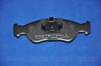 Комплект тормозных колодок, дисковый тормоз PARTSMALL арт. PKC010