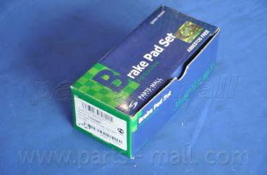 Комплект тормозных колодок, дисковый тормоз PARTSMALL арт. PKC024