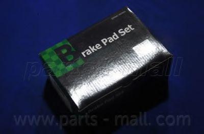 Комплект тормозных колодок, дисковый тормоз PARTSMALL арт.