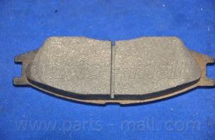 Комплект тормозных колодок, дисковый тормоз PARTSMALL арт. PKE004