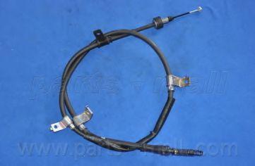 Трос, стояночная тормозная система PARTSMALL арт. PTA146