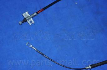 Трос, стояночная тормозная система PARTSMALL арт. PTD033