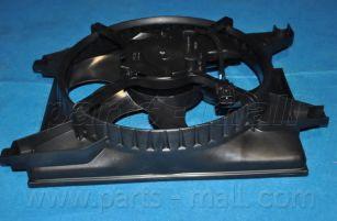 Вентилятор, конденсатор кондиционера PARTSMALL арт. PXNBA034