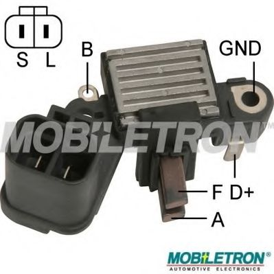 Регулятор генератора MOBILETRON арт. VRH200021