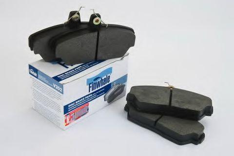 Комплект тормозных колодок, дисковый тормоз FINWHALE арт. V202