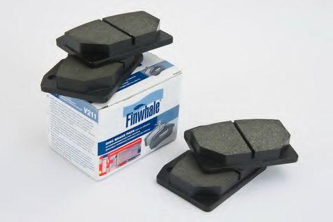 Комплект тормозных колодок, дисковый тормоз FINWHALE арт. V211