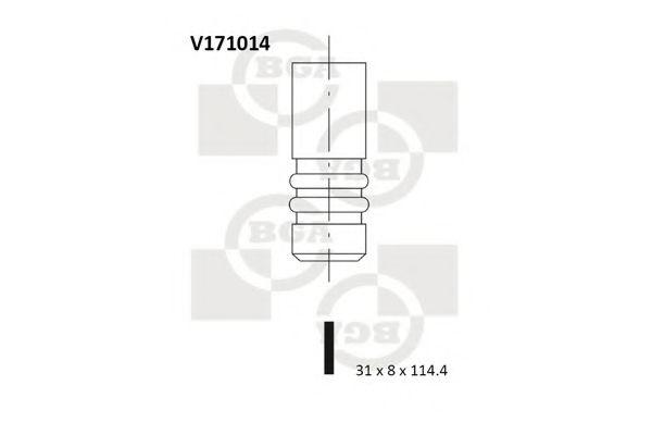 Выпускной клапан BGA арт.