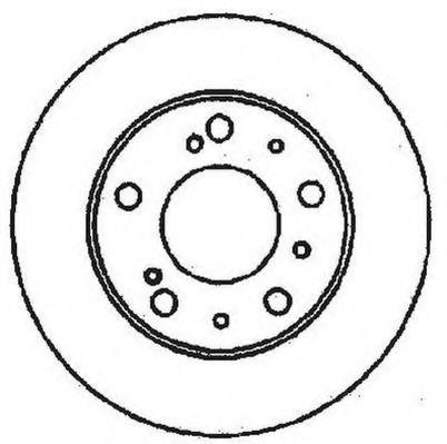 Тормозной диск JURID арт. 561159JC