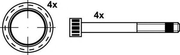 Комплект тормозных колодок, дисковый тормоз JURID арт. 2919209560