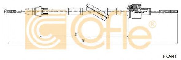 Трос, управление сцеплением COFLE арт. 102444