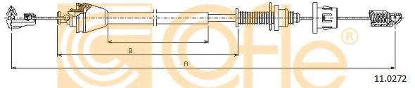 Тросик газа COFLE арт. 110272
