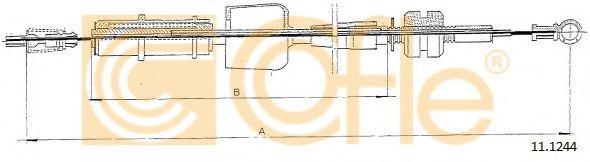 Тросик газа COFLE арт. 111244