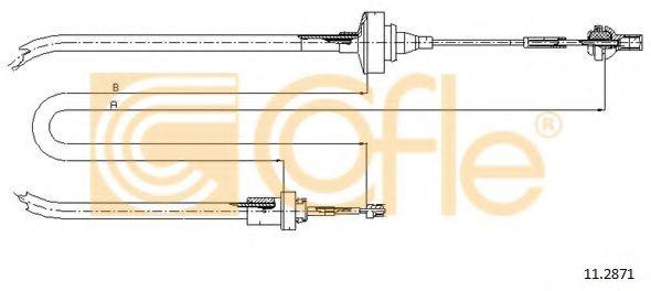 Трос, управление сцеплением COFLE арт. 112871