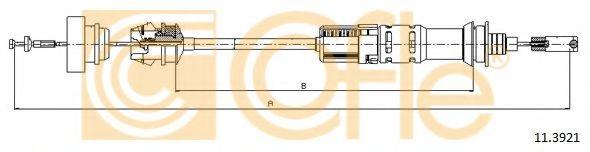 Трос, управление сцеплением COFLE арт. 113921