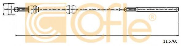 Трос, стояночная тормозная система COFLE арт. 115760