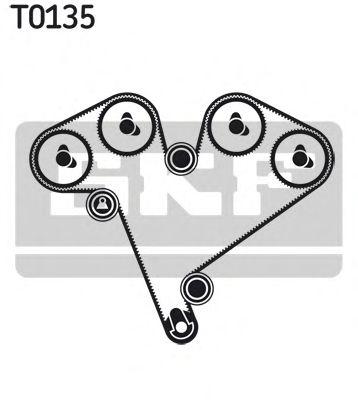 Комплект ремня ГРМ SKF арт. VKMA05501