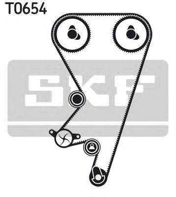 Комплект ремня ГРМ SKF арт. VKMA05202