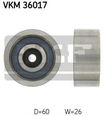 Паразитный / ведущий ролик, поликлиновой ремень SKF арт. VKM36017