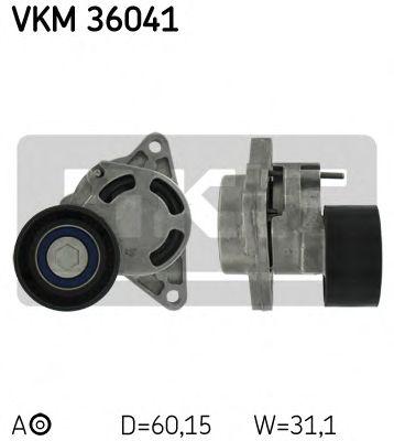 Натяжной ролик, поликлиновой  ремень SKF арт. VKM36041