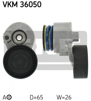 Натяжной ролик, поликлиновой  ремень SKF арт.