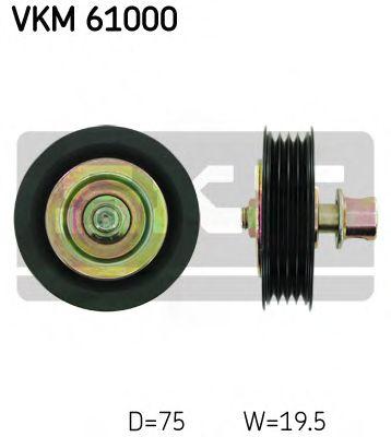 Паразитный / ведущий ролик, поликлиновой ремень SKF арт. VKM61000