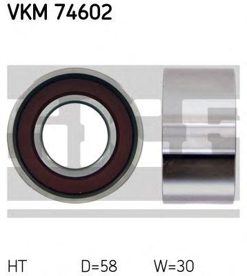 Натяжной ролик, ремень ГРМ SKF арт. VKM74602