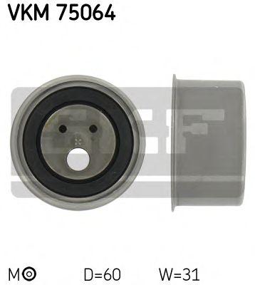 Натяжной ролик, ремень ГРМ SKF арт. VKM75064