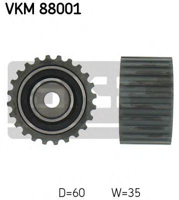 Паразитный / Ведущий ролик, зубчатый ремень SKF арт. VKM88001