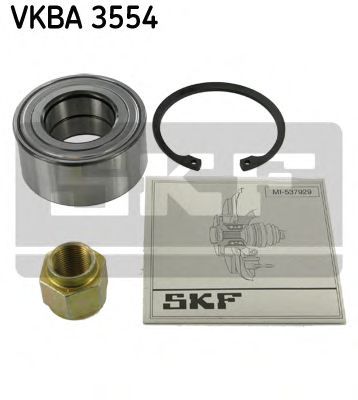 Комплект подшипника ступицы колеса SKF арт. VKBA3554