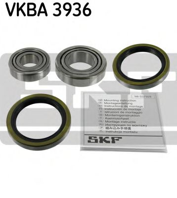 Комплект подшипника ступицы колеса SKF арт. VKBA3936