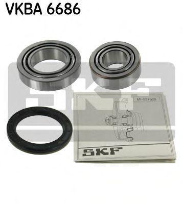Комплект подшипника ступицы колеса SKF арт. VKBA6686