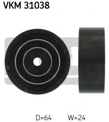 Паразитный / ведущий ролик, поликлиновой ремень SKF арт. VKM31038