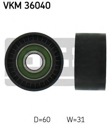 Паразитный / ведущий ролик, поликлиновой ремень SKF арт.