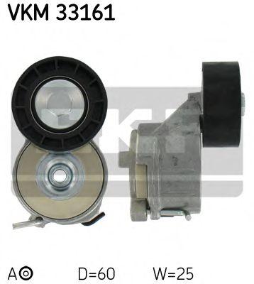 Натяжной ролик, поликлиновой  ремень SKF арт. VKM33161