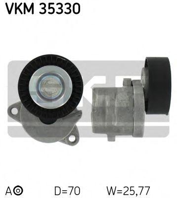 Натяжной ролик, поликлиновой  ремень SKF арт. VKM35330