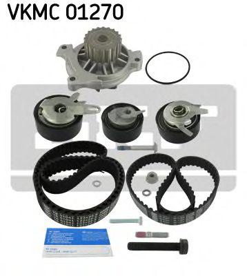 Комплект (ремінь+ролик+помпа) SKF VKMC01270