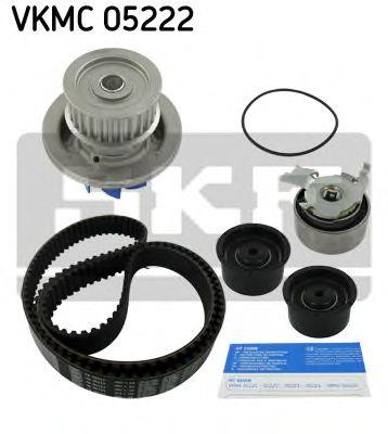 Комплект (ремінь+ролик+помпа) SKF VKMC05222