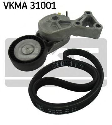 Поликлиновой ременный комплект SKF арт. VKMA31001